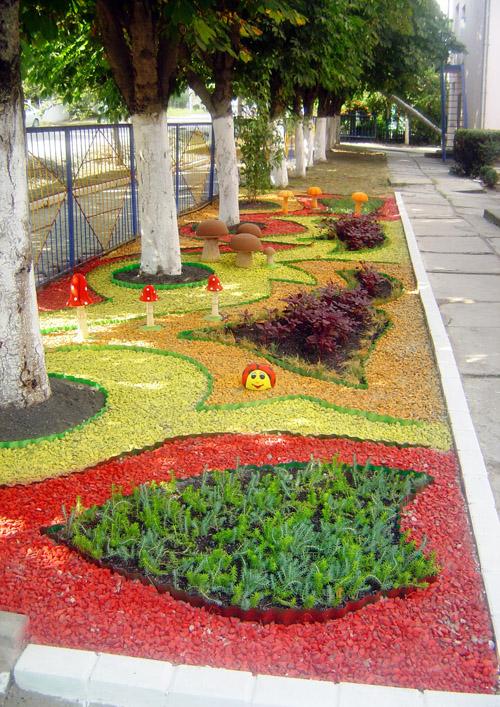 Ландшафтный дизайн детского сада фото